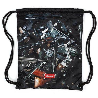 Kream Shool Bag Grey