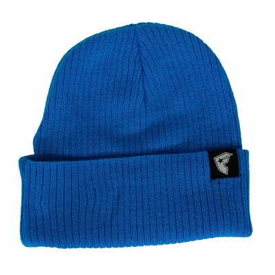 Famous Stars and Straps Labeled Beanie Hat Turquoise