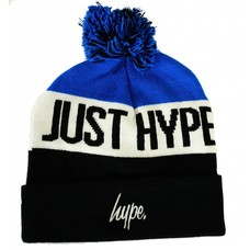 Hype Just Hype Stripe Pom Beanie Navy/Multi