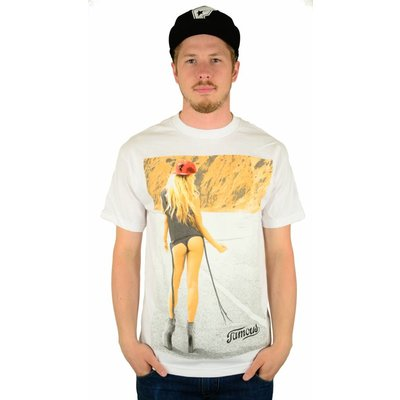 Famous Stars and Straps Hitchhiker T-Shirt White