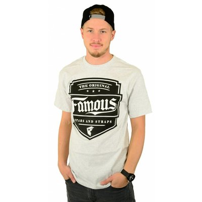Famous Stars and Straps Top Notch T-Shirt Ash