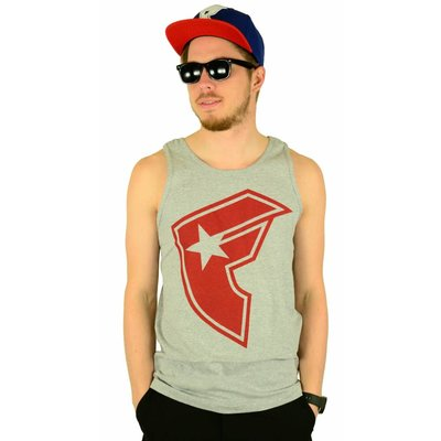 Famous Stars and Straps OG Boh Tank Top Heather Grey