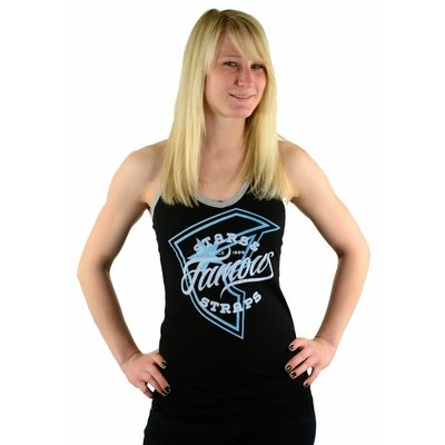 Famous Stars and Straps Monty Lucky Tank Black