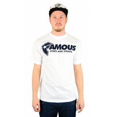 Famous Stars and Straps FSAS Staple T-Shirt White/Navy