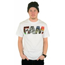 Famous Stars and Straps Fill Up T-Shirt White