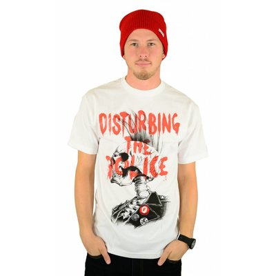 Famous Stars and Straps Disturbing the Police T-Shirt White
