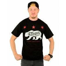 Famous Stars and Straps Calibear Steppin T-Shirt Black