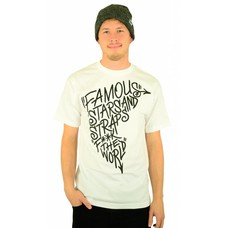 Famous Stars and Straps Boh FTW T-Shirt White/Black
