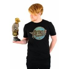Atticus Clothing Gordon Slim T-Shirt Black
