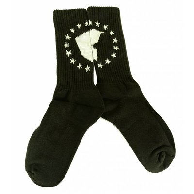 Famous Stars and Straps Unity Socks Black