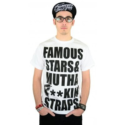 Famous Stars and Straps MFS T-Shirt White/Black