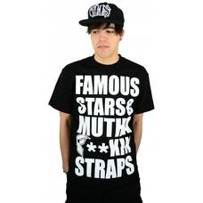 Famous Stars and Straps MFS T-Shirt Black/White