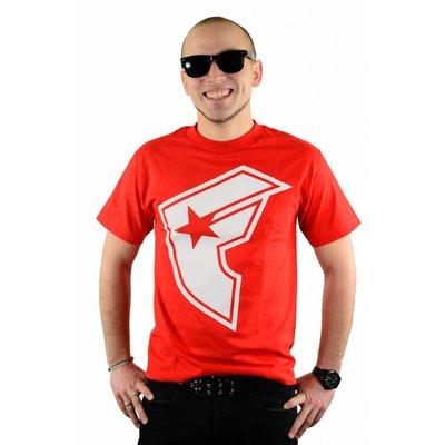 Famous Stars and Straps OG Boh T-Shirt Red/White