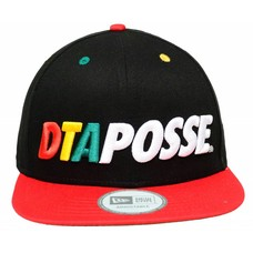 DTA Rogue Status Bold Posse New Era Snapback Cap Black/Rasta