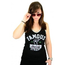 Famous Stars and Straps Rodger Lucky Tank Black