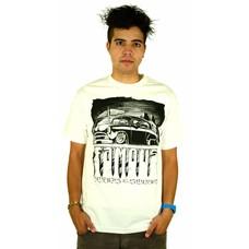 Famous Stars and Straps Creepin T-Shirt White/Black