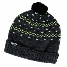 Neff Headwear Retro Beanie Charcoal