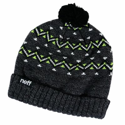Neff Headwear Retro Beanie Charcoal