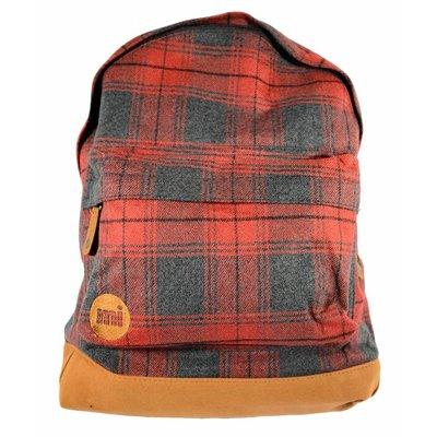 mi-pac Plaid Backpack Red/Plaid
