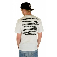 Famous Stars and Straps Label Destroyer T-Shirt White