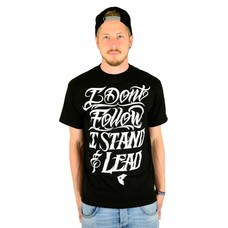Famous Stars and Straps Stand and Lead T-Shirt Black