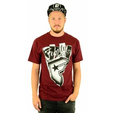 Famous Stars and Straps Wild Thorn T-Shirt Burgundy