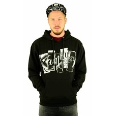 Famous Stars and Straps Family Thorn Hoodie Black