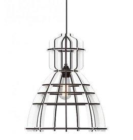 Lichtlab No. 19 Industrielamp Wit