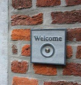 La Pierre Stones Natuursteen deurbeldrukker Welcome 1