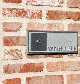La Pierre Stones Natuursteen deurbeldrukker Welcome 3