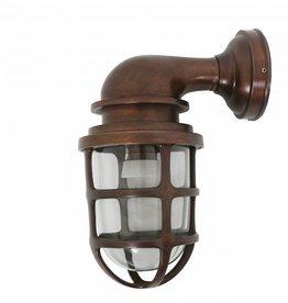 Industriële verlichting Buitenlamp Brooklyn Dark Brass