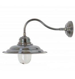 Industriële verlichting Buitenlamp Derby Antiek Zilver