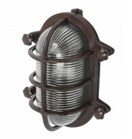 Industriële verlichting Buitenlamp Dundee Antiek Brass
