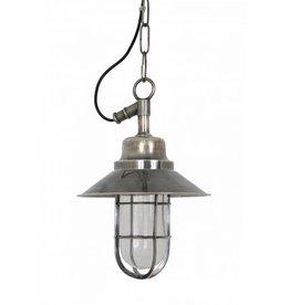 Industriële verlichting Buiten hanglamp Ventura Antiek Zilver