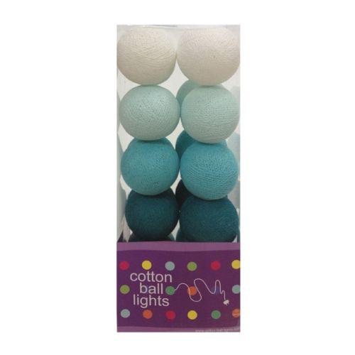 Cottonball Lights Cotton Ball Lights Blauw / Aqua mix