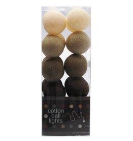 Cottonball Lights Cotton Ball Lights Bruintinten mix