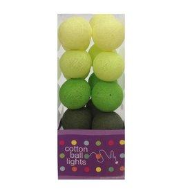 Cottonball Lights Cotton Ball Lights Groen mix