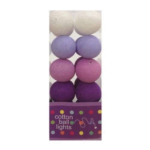 Cottonball Lights Cotton Ball Lights Paars mix