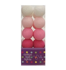 Cottonball Lights Cotton Ball Lights Roze mix