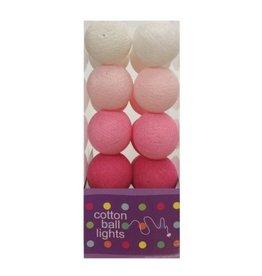 Cottonball Lights Cotton Ball Lights Roze mix