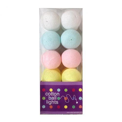 Cottonball Lights Cotton Ball Lights Pastel Mix