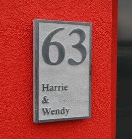 La Pierre Stones Natuursteen huisnummerbordje Board 2