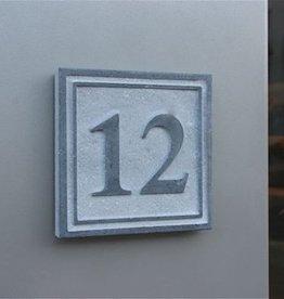 La Pierre Stones Natuursteen huisnummerbordje Square 4