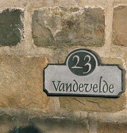 La Pierre Stones Natuursteen huisnummerbordje Stafford