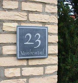 La Pierre Stones Natuursteen huisnummerbordje Style 4