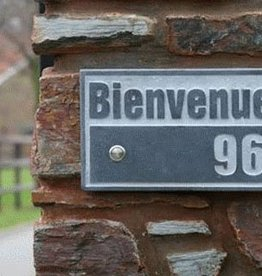 La Pierre Stones Natuursteen huisnummerbordje Fairgate 3