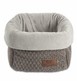 Baby's Only Opbergmand Gebreid Taupe