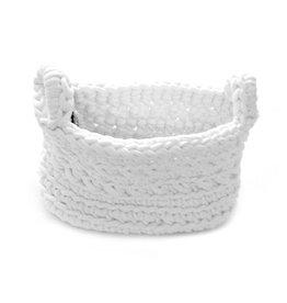 Naco Opbergmand Crochet Wit