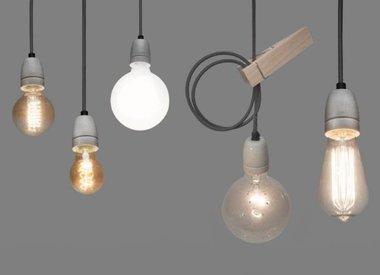 Strijkijzersnoer lampen