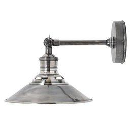 Industriële verlichting Wandlamp Kensington Antiek Zilver